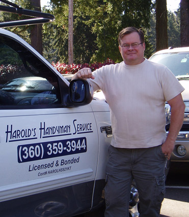 Home repairman in Olympia, WA